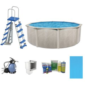 Cornelius Pools Phoenix 24 x 52 Frame Above Ground Pool Kit with Pump & Ladder