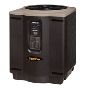 Hayward HP21404T HeatPro Titanium 140,000 BTU Heat Pump, Square