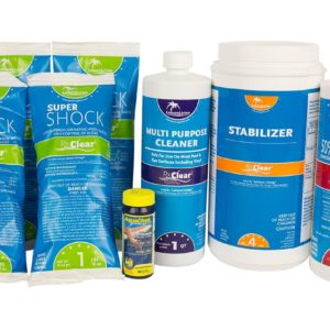 Rx Clear Spring Swimming Pool Start-Up Opening Chemical Kit For Pools Up To 30,000 Gallon