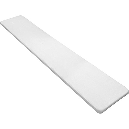 Inter Fab OLY8WW Diving Board Replacement for In Ground Pools  Olympian  White