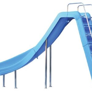 Inter Fab WRS CLB SS Water Pool Slide  Wild Ride  Blue