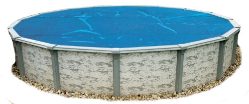 8 mil Solar Blanket for 15 ft Round Above Ground Pools   Blue