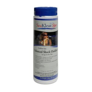 SeaKlear Spa Balanced Shock Oxidizer for Spas   Hot Tubs  2 lb