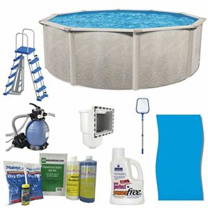 Cornelius Pools Phoenix 18' x 52  Frame Above Ground Pool Kit with Pump   Ladder