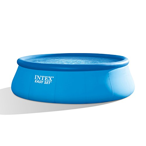 Intex 15ft X 48in Easy Set Pool Set with Filter Pump  Ladder  Ground Cloth   Pool Cover